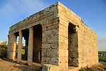 Israel, the Roman mausoleum near Elad