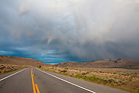 Storm over Blue Mesa Reservoir, between Gunnison and Montrose.<br /> <br /> Canon EOS 5D, 24mm f/2.8 lens