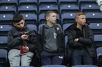 Preston North End's Fans anticipate the kick-off<br /> <br /> Photographer Mick Walker/CameraSport<br /> <br /> The EFL Sky Bet Championship - Preston North End v Leeds United - Tuesday 10th April 2018 - Deepdale Stadium - Preston<br /> <br /> World Copyright &copy; 2018 CameraSport. All rights reserved. 43 Linden Ave. Countesthorpe. Leicester. England. LE8 5PG - Tel: +44 (0) 116 277 4147 - admin@camerasport.com - www.camerasport.com