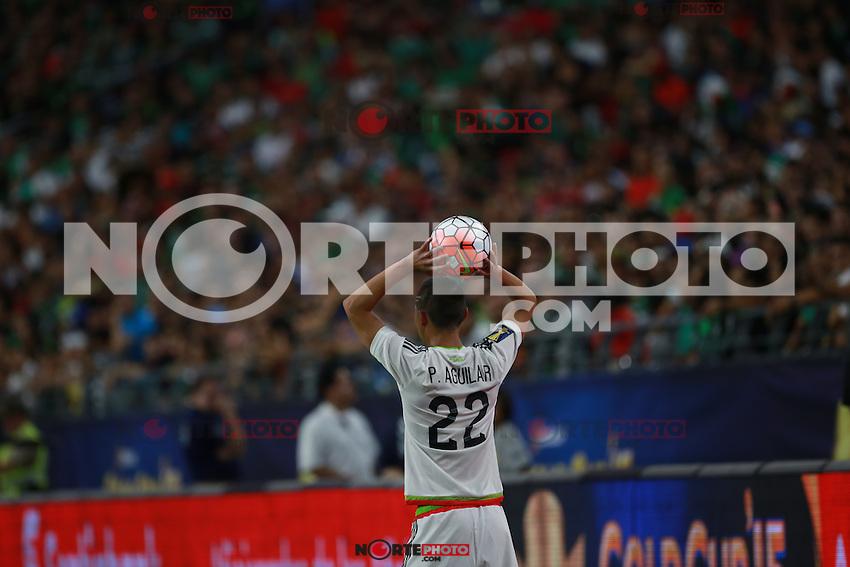 Paul Aguilar   de Mexico ,durante partido entre las selecciones de Mexico y Guatemala  de la Copa Oro CONCACAF 2015. Estadio de la Universidad de Arizona.<br /> Phoenix Arizona a 12 de Julio 2015.