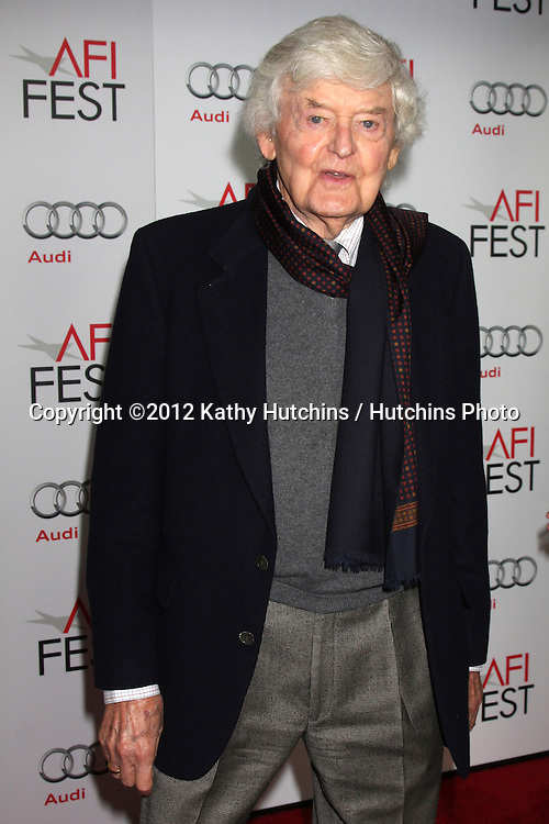 "LOS ANGELES - NOV 8:  Hal Holbrook arrives at the ""Lincoln"" Premiere at the AFI Fest at Graumans Chinese Theater on November 8, 2012 in Los Angeles, CA"