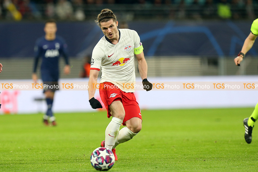 Marcel Sabitzer of RB Leipzig during RB Leipzig vs Tottenham Hotspur, UEFA Champions League Football at the Red Bull Arena on 10th March 2020