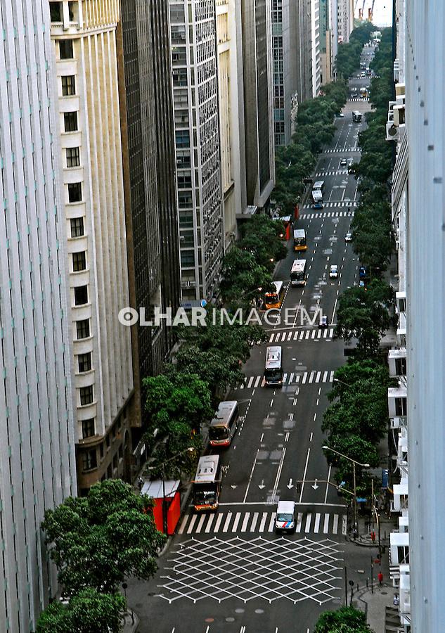 Avenida Rio Branco. Rio de Janeiro. 2008. Foto de Luciana Whitaker.