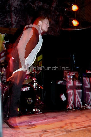 Gallows performing at Reggies in Chicago, Illinois.<br />