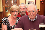 Rosaleen Wolfe, Jerry Healy and John McGrane celebrating New Years Eve in Hanratty's...(Photo credit should read www.newsfile.ie)....This Picture has been sent you under the conditions enclosed by:.Newsfile Ltd..The Studio,.Millmount Abbey,.Drogheda,.Co Meath..Ireland..Tel: +353(0)41-9871240.Fax: +353(0)41-9871260.GSM: +353(0)86-2500958.email: pictures@newsfile.ie.www.newsfile.ie.