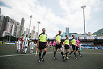 KCC Veterans vs Yau Yee League Masters during the Masters tournament of the HKFC Citi Soccer Sevens on 22 May 2016 in the Hong Kong Footbal Club, Hong Kong, China. Photo by Li Man Yuen / Power Sport Images
