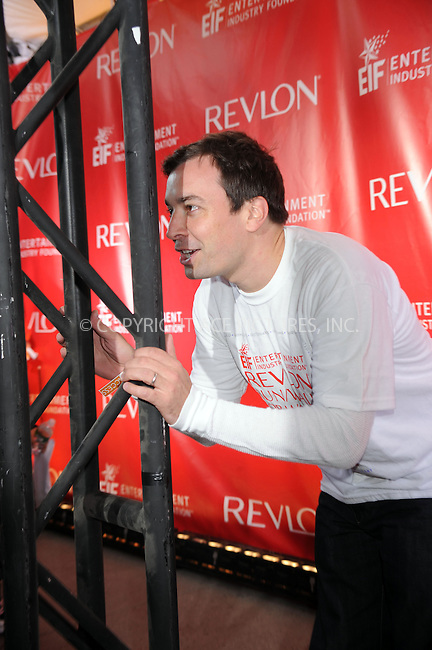 WWW.ACEPIXS.COM . . . . . ....May 2 2009, New York City....Actor Jimmy Fallon at the 12th Annual EIF Revlon Run/Walk For Women at Times Square on May 2, 2009 in New York City....Please byline: KRISTIN CALLAHAN - ACEPIXS.COM.. . . . . . ..Ace Pictures, Inc:  ..tel: (212) 243 8787 or (646) 769 0430..e-mail: info@acepixs.com..web: http://www.acepixs.com