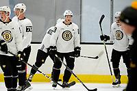 June 28, 2018: Boston Bruins defenseman Olivier Galipeau (56) skates during the Boston Bruins development camp held at Warrior Ice Arena in Brighton Mass. Eric Canha/CSM