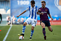 I. Rakitic (midfielder; FC Barcelona) during the Spanish football of La Liga Santander, match between Real Sociedad and FC Barcelona at the Anoeta stadium, in San Sebastian, Spain, on Saturday, September 15, 2018.
