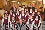Girls from Castleisland Presentation National School who were confirmed by Bishop Bill Murphy in St Stephen & Johns Church, Castleisland, on Thursday..