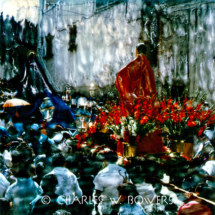 San Miguel de Allende Easter procession.<br />