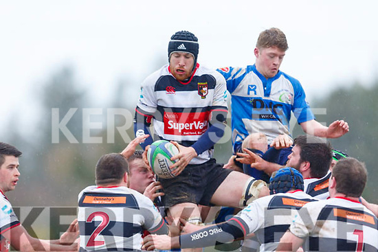 Action from Tralee v Ballincollig in the Munster Cup in O'Dowd Park on Sunday