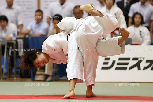 Ami Kondo,<br /> September 13, 2014 - Judo : <br /> All Japan Junior Judo Championships <br /> Women's -48kg<br /> at Saitama Kenritsu Budokan, Saitama, Japan. <br /> (Photo by Shingo Ito/AFLO SPORT) [1195]