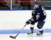 Jason Bast (StFX - 20) - The visiting St. Francis Xavier University X-Men defeated the Northeastern University Huskies 8-5 on Sunday, October 2, 2011, at Matthews Arena in Boston, Massachusetts.