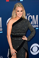 LAS VEGAS, NV - APRIL 7: Carrie Underwood attends the 54th Annual ACM Awards at the Grand Garden Arena on April 7, 2019 in Las Vegas, Nevada. <br /> CAP/MPIIS<br /> &copy;MPIIS/Capital Pictures