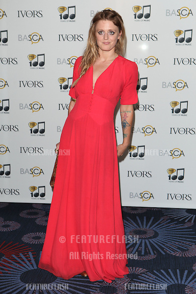 Bo Bruce arriving for the 59th Ivor Novello Awards, at the Grosvenor House Hotel, London. 22/05/2014 Picture by: Alexandra Glen / Featureflash
