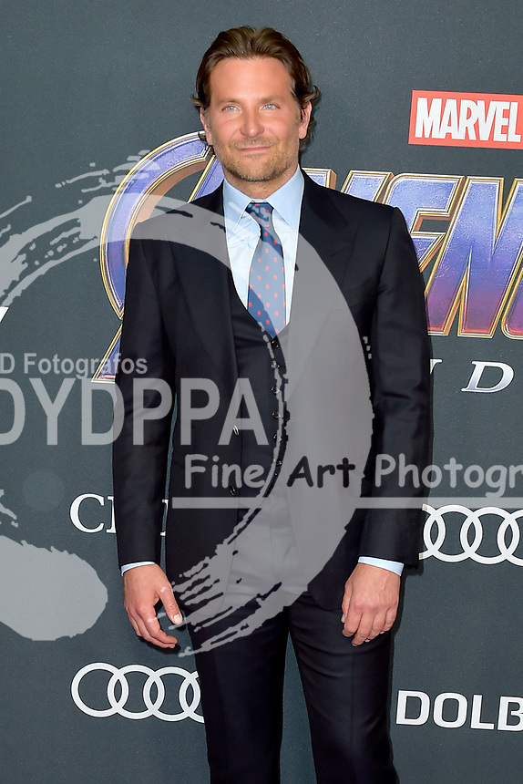 Bradley Cooper bei der Weltpremiere des Kinofilms 'Avengers: Endgame' im Los Angeles Convention Center. Los Angeles, 22.04.2019