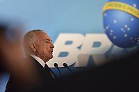 BRASÍLIA, DF, 26.06.2017 - TEMER-DF - O presidente Michel Temer durante Cerimônia de Sanção da Lei que regulamenta a Diferenciação de Preço nesta segunda-feira, 26, no Palácio do Planalto. (Foto: Ricardo Botelho/Brazil Photo Press)