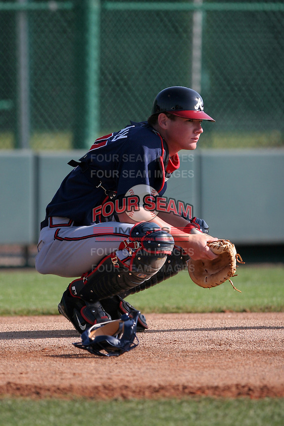 Atlanta Braves minor leaguer Matt Kennelly during Spring Training at Disney's Wide World of Sports on March 15, 2007 in Orlando, Florida.  (Mike Janes/Four Seam Images)