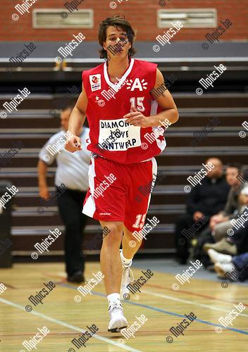 2008-09-09 / Basketbal / Antwerp Diamond Giants 2 / Nick Mollekens ..Foto: Maarten Straetemans (SMB)