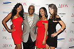 John Blassingame, Publisher of Hype Hair, Black Woman, and Today's Black Men, poses with staff at the Aeon Magazine Launch Party, at the Samsung Experience in the Time Warner Center,  November 15, 2011.