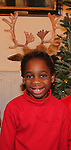 Raif (son of Rhonda Ross) - Hearts of Gold links to a better life celebrates Christmas with a party #2 for mothers and their children on December 17, 2016 in New York City, New York with arts and crafts, a great turkey dinner with all the goodies and then the children met Santa Claus and had a photo with him as he gave them gifts. (Photo by Sue Coflin/Max Photos)