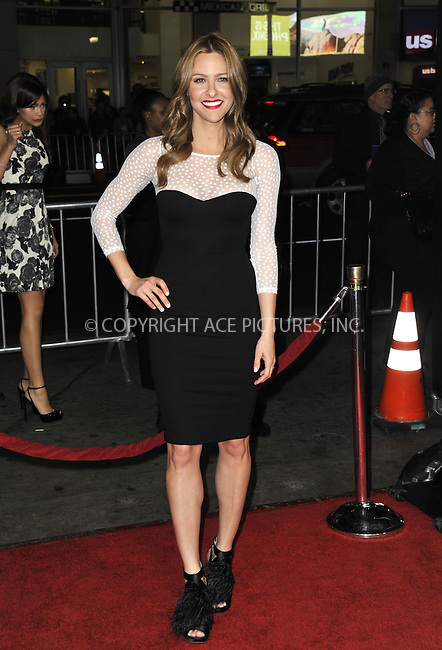 WWW.ACEPIXS.COM....February 5 2013, LA....Jill Wagner arriving at the 'Safe Haven' - Los Angeles Premiere at TCL Chinese Theatre on February 5, 2013 in Hollywood, California.....By Line: Peter West/ACE Pictures......ACE Pictures, Inc...tel: 646 769 0430..Email: info@acepixs.com..www.acepixs.com
