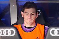 Real Madrid's Iker Casillas during La Liga Match. September 01, 2013. (ALTERPHOTOS/Caro Marin) <br /> Football Calcio 2013/2014<br /> La Liga Spagna<br /> Foto Alterphotos / Insidefoto <br /> ITALY ONLY