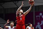 Haruka Suzuki (JPN), <br /> AUGUST 15, 2018 - Basketball : Women's Qualification round match between Hong Kong 44-121 Japan at Gelora Bung Karno Basket Hall A during the 2018 Jakarta Palembang Asian Games in Jakarta, Indonesia.<br /> (Photo by MATSUO.K/AFLO SPORT)