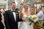 Kristina and Gaetan's wedding in Newport, RI