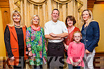 At the Autumn Bites Tralee Parnells Fundraiser Cookery Demonstration with Chef Mark Doe  at the Meadowlands Hotel on Friday were l-r Berni Canty, Jenny Sheehy, Mark Doe, Geraldine Laffin, Cathriona Crowley and Rachel Sargent.
