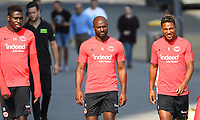 Danny da Costa (Eintracht Frankfurt), Jetro Willems (Eintracht Frankfurt), Jonathan de Guzman (Eintracht Frankfurt) - 05.09.2018: Eintracht Frankfurt Training, Commerzbank Arena, DISCLAIMER: DFL regulations prohibit any use of photographs as image sequences and/or quasi-video.