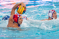 1 BIJAC Marko CRO (Red Cap) <br /> CRO - ITA Croatia (white caps) vs. Italy (blue caps) <br /> Barcelona 28/07/2018 Piscines Bernat Picornell <br /> Men Final 3rd 4th Place  <br /> 33rd LEN European Water Polo Championships - Barcelona 2018 <br /> Photo Andrea Staccioli/Deepbluemedia/Insidefoto