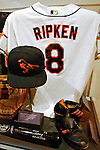 21 May 2007:  Artifacts from Cal Ripken Junior's career are on display in the Baseball Hall of Fame Museum in Cooperstown, NY. Ripken is scheduled to be inducted into the Baseball Hall of Fame on July 29, 2007...Mandatory Credit: Ed Wolfstein Photo