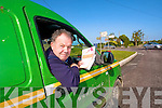 LAST POST: Having delivered post to the Lisselton/Ballydonoghue parish for 26 years, postman Tony Mulvihill will deliver his last letters on Friday before he hangs up his An Post bag and retires.