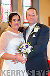 Sinead Donovan, Skibereen, and Sean O'Sullivan, Tuosist, who were married on Saturday in Dauros Church. Best man was Michael O'Sullivan and groomsman was Michael P, John and Donncha O'Sullivan. Bridesmaid was Aoife O'Brien assisted by Julie and Emma O'Sullivan. Flowergirl was Danielle O'Sullivan. The reception was held in the Kenmare Bay Hotel and the couple will reside in Tuosist.