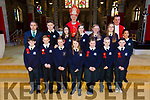 Sixth class students from Blennervile NS were confirmed by Bishop Ray Browne at St. John's Church Tralee on Friday with with Fr Francis Nolan and Principal Terry O'Sullivan