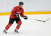 Robin Grossmann (Kloten Flyers - Switzerland) The Suisse defeated Slovakia 2-1 in a 2007 World Juniors match on January 2, 2007, at FM Mattson Arena in Mora, Sweden.