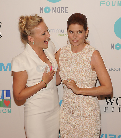 New York,NY-May 29: Kelli Giddish, Debra Messing Attends Mariska Hargitayís Joyful Heart Foundation 10th anniversary  in New York City on May 29, 2014. Credit: John Palmer/MediaPunch