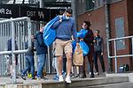 07.07.2020, Trainingsgelaende am wohninvest WESERSTADION,, Bremen, GER, 1.FBL, Werder Bremen - der Tag nach Heidenheim, im Bild<br /> <br /> Claudio Pizarro (Werder Bremen #14) kommt mit seiner Tochter seinen Sachen aus dem Spint aus der Kabine und geht zum Auto<br /> <br /> <br /> <br /> Foto © nordphoto / Kokenge