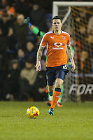 Glen Rea of Luton Town during the Sky Bet League 2 match between Luton Town and Cheltenham Town at Kenilworth Road, Luton, England on 31 January 2017. Photo by David Horn / PRiME Media Images