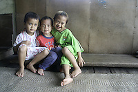 Iban Kids in Borneo