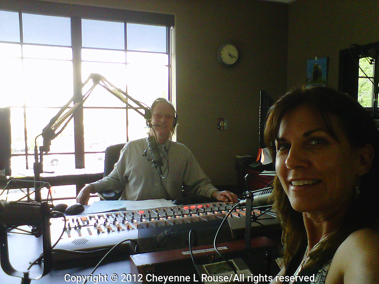 This is me at the Randy Barton Radio Show (KPCW) in Park City, Utah. Talking about my photography and the HDR class that I was in town to do. Yap, yap, yap....we could have talked all day!