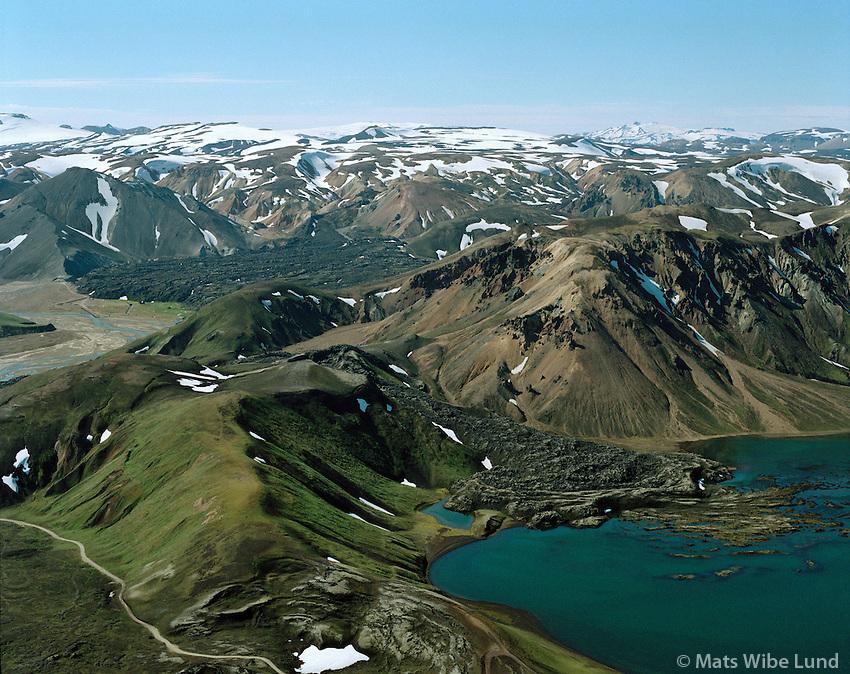 Frostasta&eth;avatn, Landmannalaugar,<br /> Fostastadavatn, Landmannalaugar, Southern Highlands
