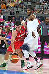 06.09.2014. Barcelona, Spain. 2014 FIBA Basketball World Cup, round of 16. Picture show F. Cruz   in action during game between  Mexico v Usa  at Palau St. Jordi
