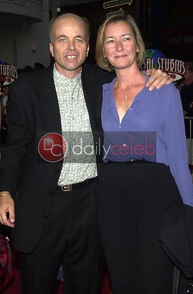 Clint Howard and wife Melanie