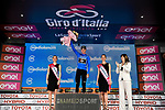 Giulio Ciccone (ITA) Trek-Segafredo retains the Mountains Maglia Azzurra at the end of Stage 2 of the 2019 Giro d'Italia, running 205km from Bologna to Fucecchio, Italy. 12th May 2019<br /> Picture: Marco Alpozzi/LaPresse | Cyclefile<br /> <br /> All photos usage must carry mandatory copyright credit (© Cyclefile | Marco Alpozzi/LaPresse)