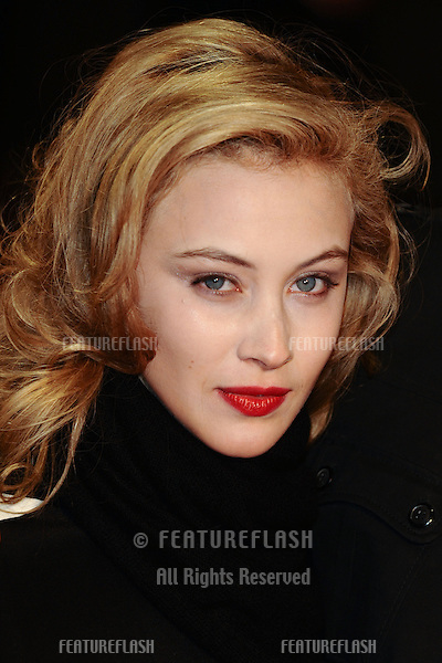 "Sarah Gadon at the premiere for ""Antiviral"" being shown as part of the London Film Festival 2012, Odeon West End London.13/10/2012 Picture by: Steve Vas / Featureflash"