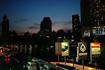 Sun set in Bangkok,Thailand