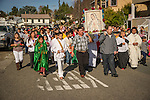 Fiesta de Nuestra Señora de Guadalupe celebrated by the Hispanic community of Amador County, Calif. at St. Patricks Catholic Church in Jackson during December...The annual event commemorates the Patroness of the Americas who appeared to Juan Diego near Mexico City in 1531.